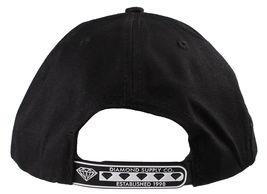 Diamond Supply Co DL-LA Black Aqua Snapback Cotton Hat White Logo Embroidered image 4