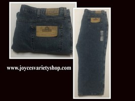Red Head Relaxed Men's Blue Jeans Sz 48/30 Medium Stone Wash image 1