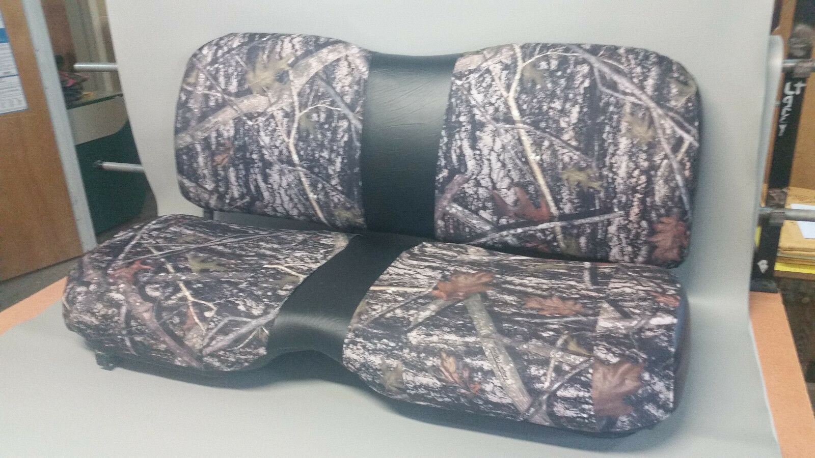 Colors John Deere Gator Bench Seat Covers XUV 855D  in SOLID BLACK   or 45