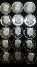 2019 S Silver Proof Kennedy Half Dollar Roll of 20 .999 Silver Gem Coins Lot # 2 image 3