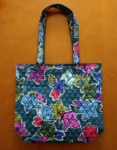 New Vera Bradley Tote Bag Shopper Travel in Falling Flowers #180917-511 - $36.00