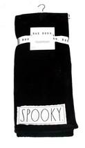 "RAE DUNN Halloween ""SPOOKY"" Patch Plush Super Soft Throw Black 50 x 60 T... - $34.99"