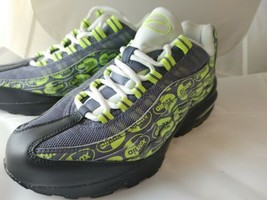 Nike 922173-004 Boys' Air Max 95 SE (GS) Sneakers Black/Volt/Ash/White U... - $65.55