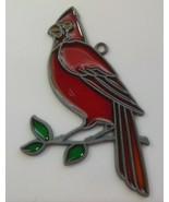 """Red Cardinal Bird Sun Catcher 4.5/8"""" x 2.3/4"""" - $16.99"""