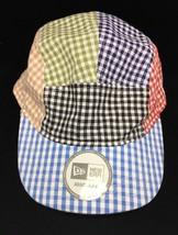 New Era Chroma Check Multi Color Gingham Adjustable Cap Size One Size - $18.70