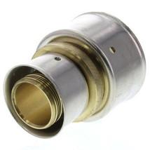 """Viega 93073 Zero Lead Bronze 1"""" x 1-1/2"""" PEX Press Coupling w/ Attached ... - $15.00"""