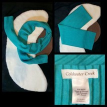 "Coldwater Creek Neck Scarf 79""X9"" Extra Long Te... - $6.93"