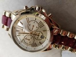 Michael Kors MK6443 Women's Gold Tone Analog Watch New!  - $147.35
