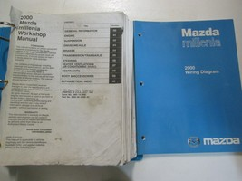 2000 Mazda Millenia Service Repair Shop Manual Set Factory Oem Books Used - $132.16