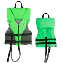 Stearns Youth Heads-Up® Life Jacket - 50-90lbs - Green - $48.46