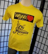 Life Begins at Lily Flanagans WBAB paper thin retro white tag Screen Sta... - $19.95