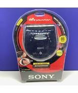 Sony CD walkman vintage portable radio mega bass jog skip free strap D-E... - $84.15