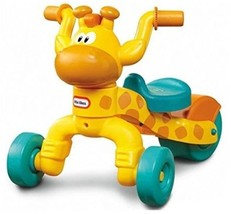 Children Ride On Tricycle Rollin Giraffe Scoot Toy Adjustable Seat Sturd... - $55.98