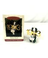 Hallmark Keepsake Ornament 1993 Fabulous Decade 4th in Series Skunk Christmas - $12.38