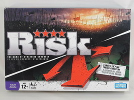 RISK 2008 Board Game Updated Hasbro 100% Complete Near Mint Bilingual @@@ - $16.71