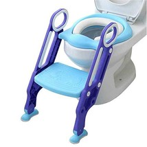 Potty Toilet Trainer Seat with Step Stool Ladder, Adjustable Toddler Toi... - $31.90
