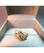 14K Yellow Gold Diamond Marquise Ring 1 CTTW 3.93 Grams Size 6.5 IK Ital... - $494.99
