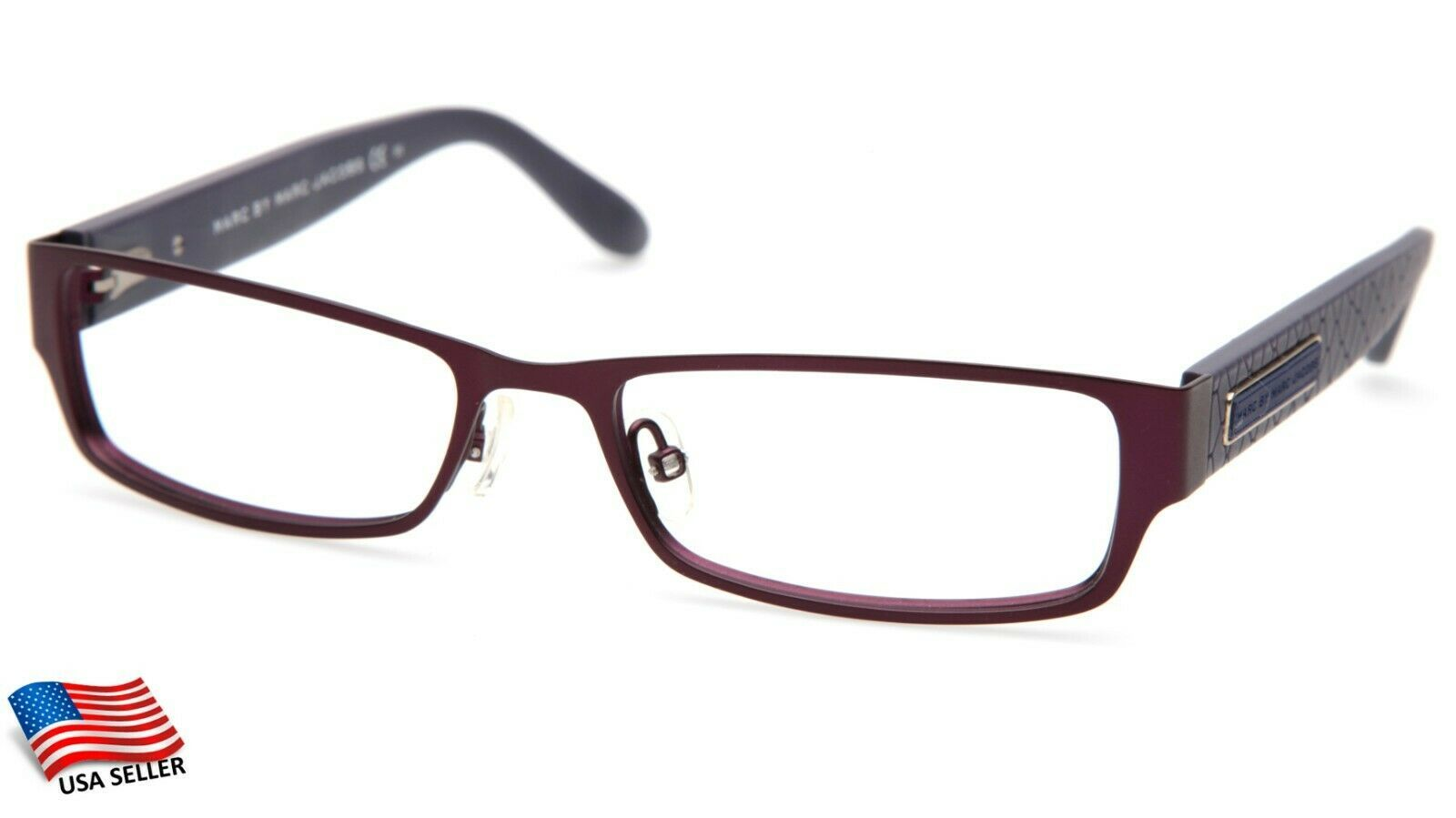"Primary image for NEW MARC BY MARC JACOBS MMJ 568 5VR PLUM EYEGLASSES FRAME 51-16-140mm B25 ""READ"""