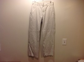 Men's Off White Medium Weight Cotton Pants by GAP Sz 30/32