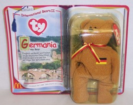 "McDonald's Introduced 1/1/99 TY Beanie Baby ""Germania"" The German Bear {3208} - $7.72"