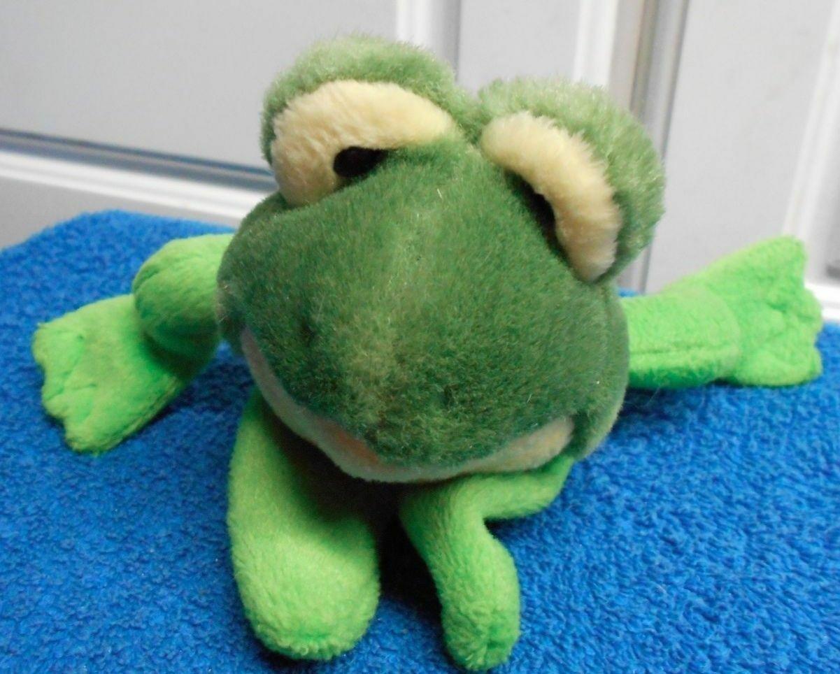 Mary Meyer Frog  Plush Finger Puppet VGC