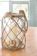Large Fisherman Net Candle Lantern - $41.34