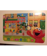 6x Sesame Street Colorful Fun Shapes & Angels Placemats~IN ENG,SPAN&FRENCH - $24.74