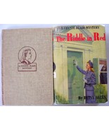 Connie Blair Mystery 2 LOT nos. 1 and 2 Clue in Blue and Riddle in Red h... - $8.00