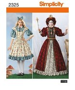 Simplicity Sewing Pattern 2325 Misses' Alice in Wonderland Costumes, HH ... - $17.64