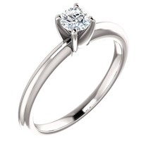 0.25 Carat H SI3 Ideal Cut Diamond Solitaire Ring - $299.00