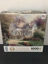 "Thomas Kinkade 1000 Piece Jigsaw Puzzle ""Home is Where the Heart Is II ~ New - $21.17"