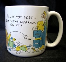 American Greetings Mug All Not lost We're working On It Cup Collectible Used - $14.52