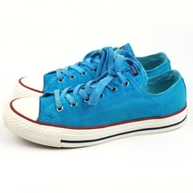 Converse Chuck Taylor All Star OX Peacock 7 US Turquoise Low Top - $25.06