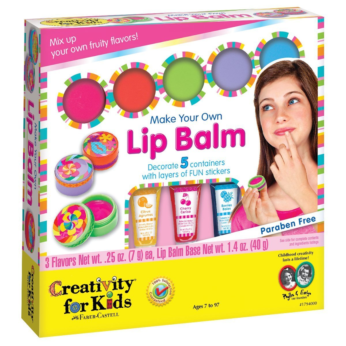 Arts and crafts for girls make your own lip balm kit toys for Crafts for girls age 9