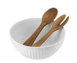 Mikasa Italian Countryside Salad Bowl Set with ... - $61.67