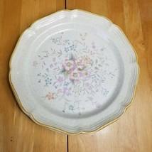 Mikasa Garden Club Tomorrow's Dream Dinner Plate Pink Purple Peach Floral  - $7.91