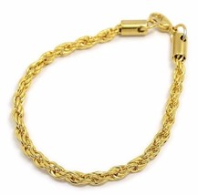 Men Women Stainless Steel Bracelet rope Chain Gold Silver Lobster clasp ... - £3.76 GBP