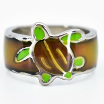Cute Sea Turtle Two-Tone Children's Color Changing Fashion Mood Ring