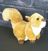 """Fiesta Plush Brown Squirrel 8"""" Stuffed Animal Park Pest Golden Toy  - $22.76"""