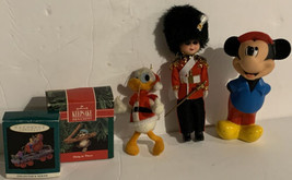 LOT Vintage Hallmark & Disney Christmas Ornaments Royal Guard Mickey Min... - $15.99