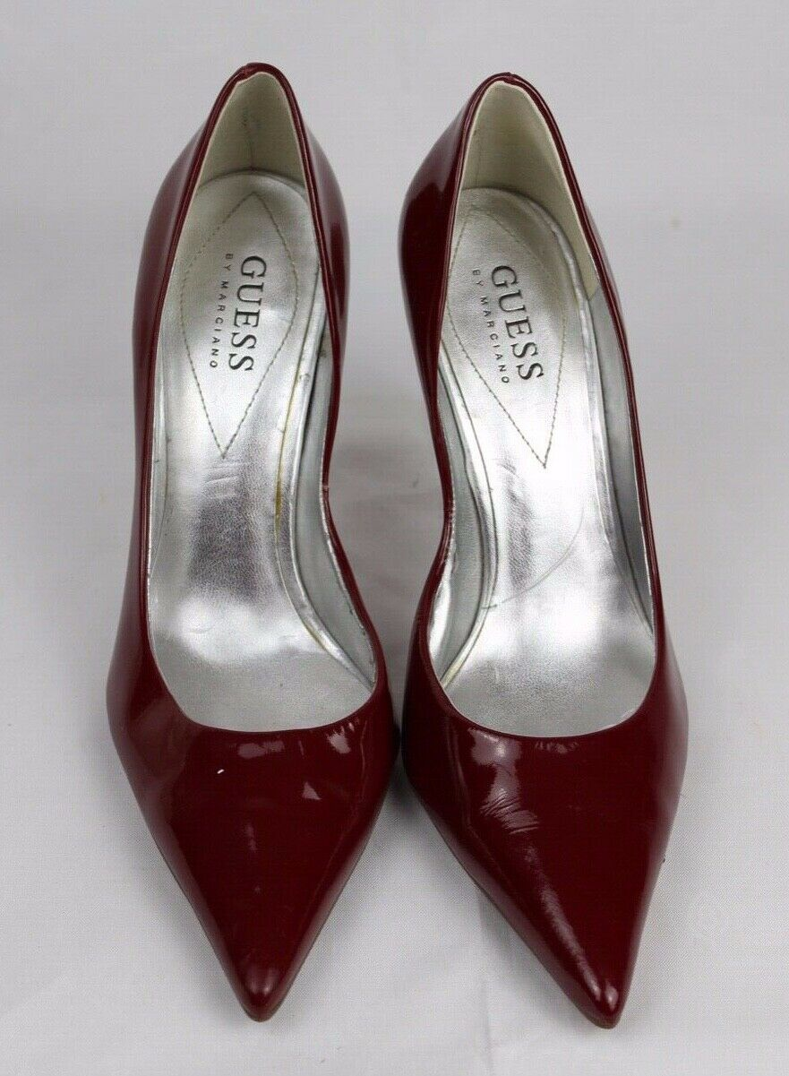 Guess By Marciano Carrie Femmes Classique Talons Chaussures Cuir Supérieur image 2