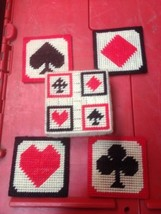 Vintage Needlepoint Cross Stitch Card Suites Co... - $11.75