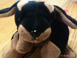 1st Edition Ty Beanie Babies Doby the Dog - $8.00