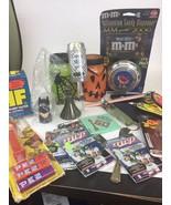 Junk Drawer Lot estate sale  Halloween,  Toys Postcards Nfl,  Keychains ... - $24.75