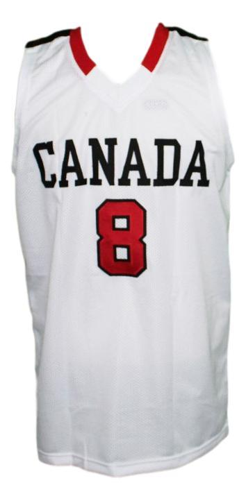 Andrew wiggins  8 team canada basketball jersey white   1