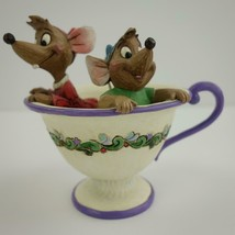 Disney Traditions Jim Shore Showcase Collection Jaq and Gus Tea for Two ... - $43.53