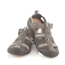 J-Sport by Jambu Dark Gray Mesh Hiking Sport Sandals Shoes Womens 6.5 - $24.64