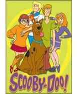 Scooby-Doo! Animation Scooby Gang Group Image Refrigerator Magnet NEW UN... - $3.99