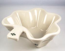 Longaberger Pottery Heritage Green shamrock dis... - $22.00