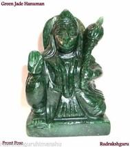 Lord Hanuman In Green Jade / Green Jade Hanuman - 385 gm  - $106.92